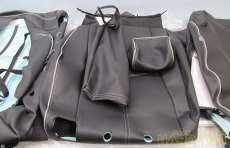 革調シートカバー ブラック 未使用品|TOYOTA
