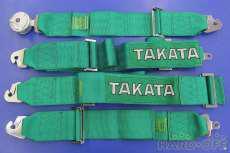 競技用4点式シートベルト 未使用品|TAKATA