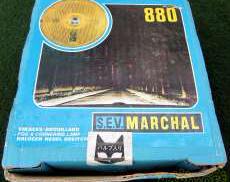旧車に!マーシャル イエロー丸目ランプ|MARCHAL