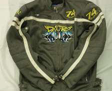 メッシュライダースジャケット 加藤大治郎モデル サイズ:XL BIGBIKE