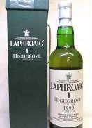 ラフロイグ1990ハイグローブ|Laphroaig