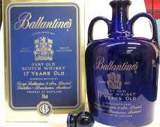 バランタイン17年(1448グラム)青・陶器ボトル|Ballantines