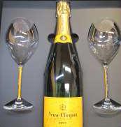 ヴーヴ クリコ イエロー ラベル・グラスセット Veuve Clicquot