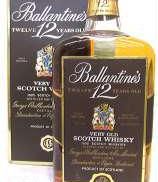 バランタイン12年旧ボトル|Ballantines