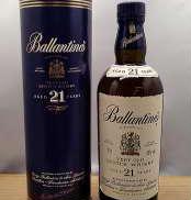 バランタイン21年 青筒箱入り BALLANTINE'S