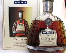 マーテルX.O.スプリーム(液面低下)|Martell
