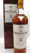 マッカラン12年シェリーカスク The Macallan