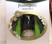 グランブリュット グラス2個付き Perrier Jouet