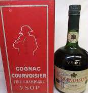 クルボアジェVSOP旧ボトル|Courvoisier