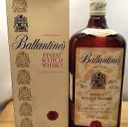 バランタインファイネスト旧ボトル1L|Ballantines