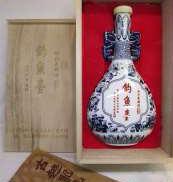 釣魚台1990 紹興花彫酒 古越龍山