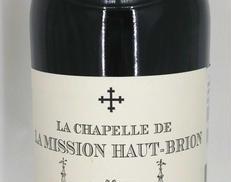 ラ シャペル ドゥ ラ ミッション オー・ブリオン 2008 HAUT BRION/オーブリオン