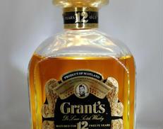 グランツ オールドボトル12年|GRANTS