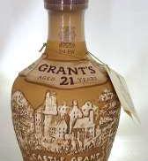 21年 ロイヤルドルトン製陶器ボトル|GRANT'S