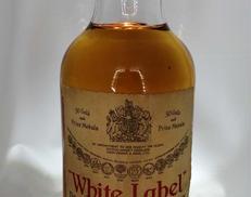 ホワイトラベル オールドボトル DEWAR'S