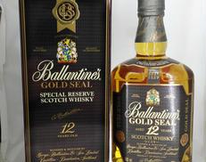 バランタイン 12年 ゴールドシール Ballantines