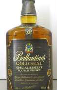 バランタインゴールドシール 1000ml|Ballantines