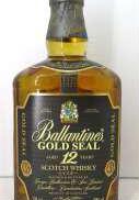 バランタイン12年 ゴールドシール|Ballantines