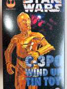 C-3PO WIND UP TIN TOY|THE TIN AGE