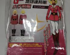 【未使用 レディースL】地球連邦軍 女子制服 ピンク TRANTRIP