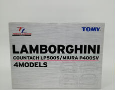 【未開封】LAMBORGHINI 4MODELS TOMY