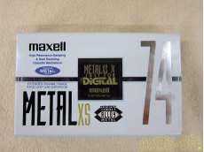 貴重なメタルポジションテープ! MAXELL