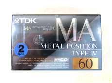 貴重なメタルポジションテープ! TDK