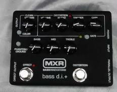 プリアンプ/DI MXR M80 BASS D.I.+ MXR
