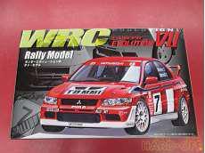 WRC LANCER EVOLUTIONⅦ Rallly Model FUJIMI
