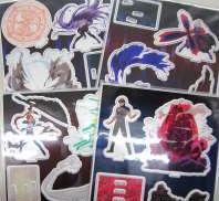 バトルシーン 3Dアクリルマスコット 4種セット Aniplex
