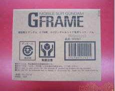 Gフレーム G3ガンダム &シャア専用リック・ドム BANDAI