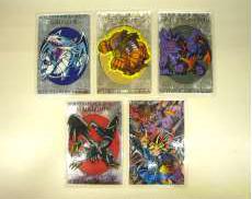 遊戯王 ラミネートカード 全5枚セット|MOVIC