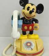 アンティーク電話機 ミッキーマウス|KANDA
