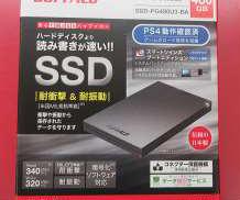 【ポータブルSSD】SSD-PG480U3-BA BUFFALO