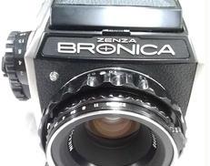 中判カメラ ZENZA BRONICA