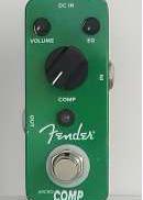 エフェクター・コンプレッサー|FENDER