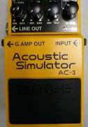 アコースティックギターシュミレーター BOSS