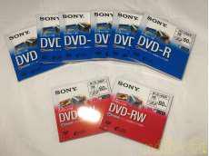 ビデオカメラ用DVDセット SONY