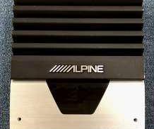 パワーアンプ ALPINE