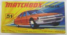 マッチボックス スーパーファスト No.51 シトロエンS.M.|MATCHBOX