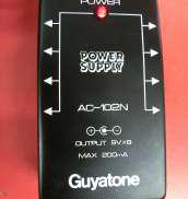 エフェクター用パワーサプライ|GUYATONE