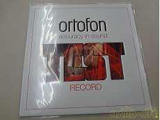 チェック用レコード|ORTOFON