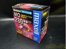 MOディスク 230MB  未開封品 HITACHI MAXELL