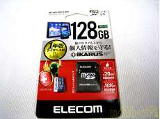 microSDXC 128GB ELECOM
