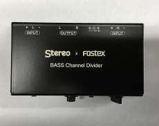 チャンネルデバイダー|STEREO X FOSTEX