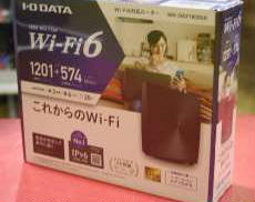 n/a/g/b/対応無線LAN AP親機 I・O DATA