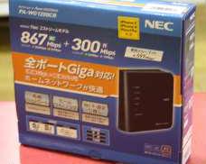 n/a/g/b/対応無線LAN AP親機 NEC