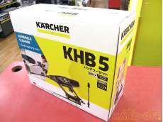 未使用品!モバイル高圧洗浄機 KARCHER
