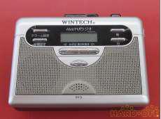 ポータブルカセットレコーダー WINTECH