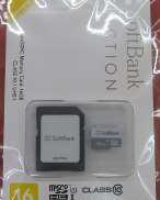 microSDHCカード|SOFTBANK